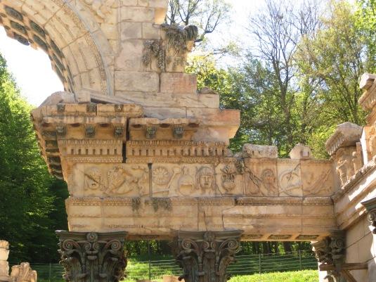 Roman Ruins at the Schonbrunn,
